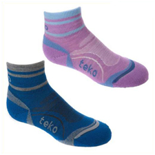 Teko Merino 3902 Kids Mini-crew Socks - Childrens