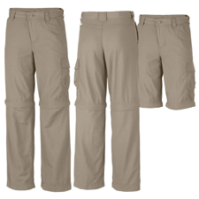 Columbia Boys Silver Ridge II Convertible Pant