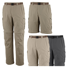 Columbia Silver Ridge Convertible Pant - Mens