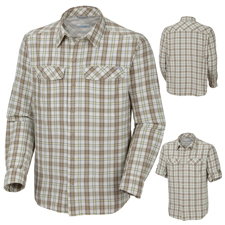 Columbia Silver Ridge Plaid LS Shirt - Mens