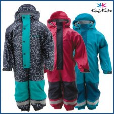 KoziKidz Rain Overall/All-in-One - Fleece Lined - Childrens