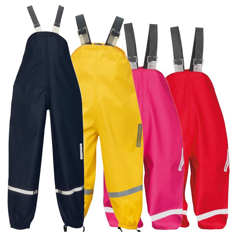 Didriksons Plaskeman Kids Pants/Dunagrees | Waterproof ...