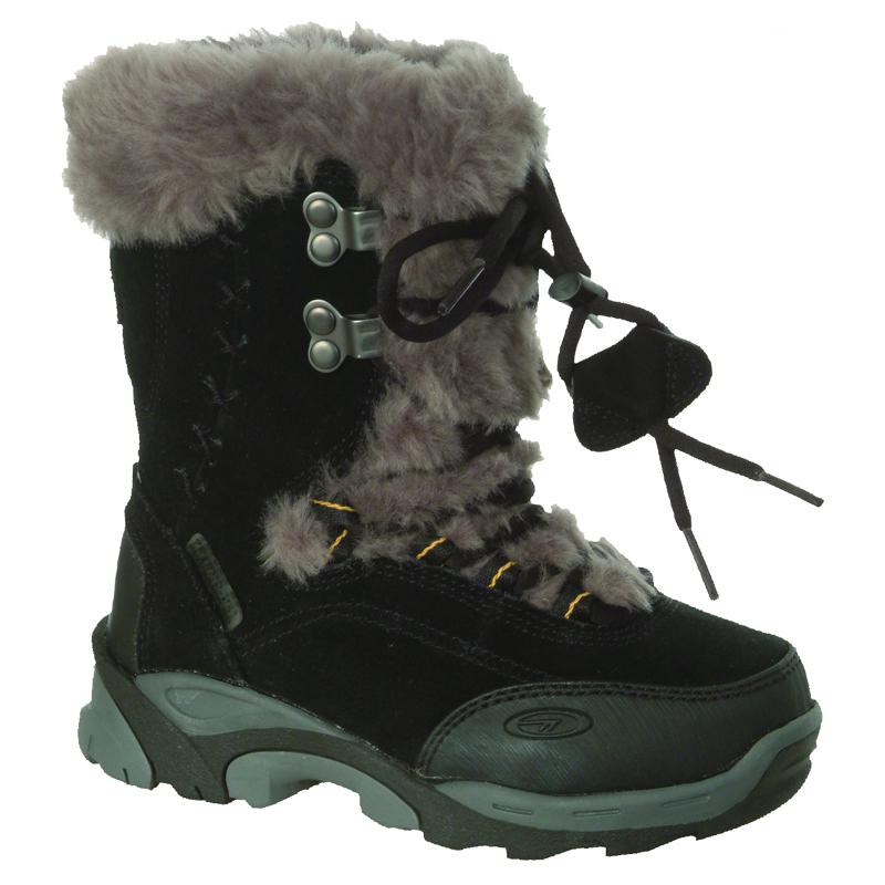 d77e42fafe5 HI-TEC St Moritz 200 JR Junior Winter Boot - Black/Grey