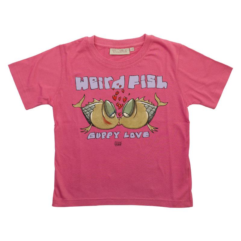 Weird fish childrens guppy love tee shirt casual tees for Weird fish t shirts