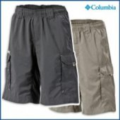 Columbia Boys Silver Ridge II Shorts - Childrens