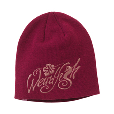 Weird Fish Girls Embroidered Beanie