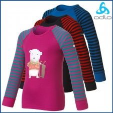 Odlo Kids Warm L/S Crew Neck Character Shirt