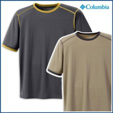 Columbia Boys Mountain Tech Ringer SS Tee Shirt - Childrens