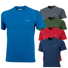 Columbia Mountain Tech III SS Crew - Mens