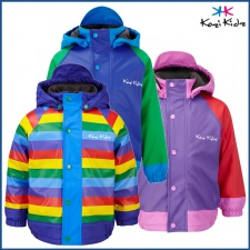 KoziKidz Varberg Fleece Lined Rain Jacket