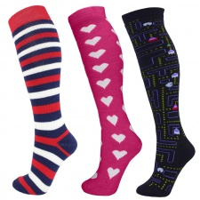 Manbi Performance Patterned Ski Sock - Childrens