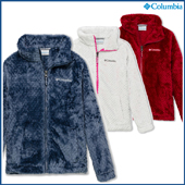 Columbia Fire Side Sherpa Girls Full Zip Fleece