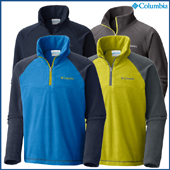 Columbia Boys Glacial Half Zip Fleece