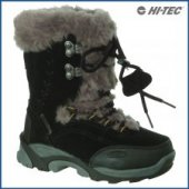 HI-TEC St Moritz 200 JR Junior Winter Boot - Black/Grey