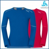 Odlo Kids X-Warm L/S Crew Neck Shirt